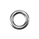 Silver Plate Jump Ring - Round 5.8mm