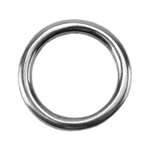 Silver Plate Jump Ring - Round 10.5mm