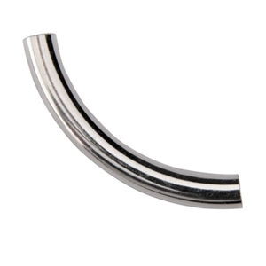 Sterling Silver Tube Bail 5x38mm