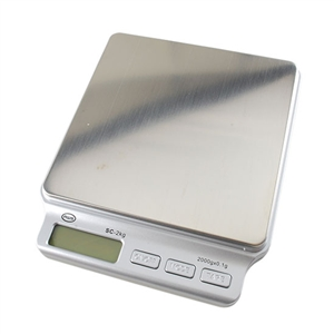 LCD Multi-Mode Digital Jewelry Pocket Scale - 2000g x 0.1g