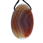 Carnelian Gemstone - Freeform Pendant 28mm x 43mm