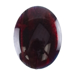 Red Paua Abalone Shell Gemstone - Cabochon Oval