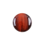 Natural Tiger Eye Red Gemstone - Cabochon Round 20mm - Pak of 1