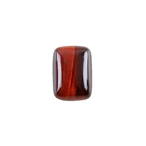 Natural Tiger Eye Red Gemstone - Cabochon Rectangle 10x14mm - Pak of 3