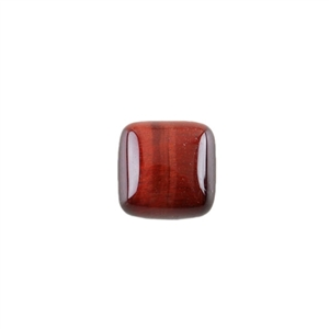 Natural Tiger Eye Red Gemstone - Cabochon Square 10mm - Pak of 4