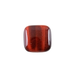 Natural Tiger Eye Red Gemstone - Cabochon Square 16mm - Pak of 1