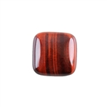 Natural Tiger Eye Red Gemstone - Cabochon Square 20mm - Pak of 1