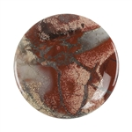 Brecciated Jasper Gemstone - Cabochon Round 35mm