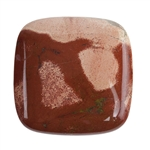 Brecciated Jasper Gemstone - Cabochon Square 35mm x 35mm Pkg -1