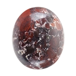 Natural Fancy Jasper Gemstone - Cabochon Oval 10x12mm - Pak of 1