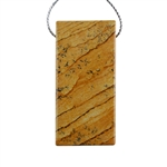 Desert Jasper Gemstone - Pendant Rectangle 26mm x 55mm Pkg - 1