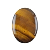 Natural Yellow Tiger Eye Gemstone - Cabochon Oval 25x35mm Pkg - 1