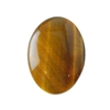 Natural Yellow Tiger Eye Gemstone - Cabochon Oval 22x30mm - Pak of 1