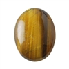 Natural Yellow Tiger Eye Gemstone - Cabochon Oval 30x40mm Pkg - 1