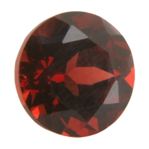 Natural Almandine Garnet 6mm Round - Pak of 1