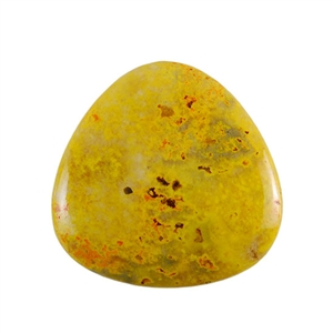 Natural Bumblebee Jasper Gemstone - Cabochon Trillion 35mm - Pak of 1