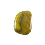 Natural Bumblebee Jasper Gemstone - Cabochon Freeform 25mm x 33mm Pkg - 1