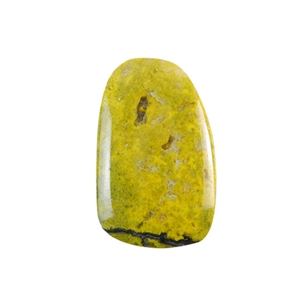 Natural Bumblebee Jasper Gemstone - Cabochon Freeform 29x46mm - Pak of 1
