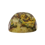 Natural Bumblebee Jasper Gemstone - Cabochon Freeform 34mm x 47mm Pkg - 1