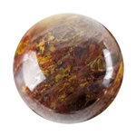 Natural Pietersite Gemstone - Cabochon Round 10mm - Pak of 1