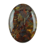 Natural Pietersite Gemstone - Cabochon Oval 10x14mm - Pak of 1