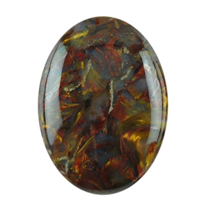 Natural Pietersite Gemstone - Cabochon Oval 10x14mm Pkg - 1
