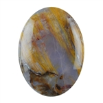 Natural Pietersite Gemstone - Cabochon Oval 13x18mm Pkg - 1