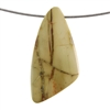 Royal Imperial Jasper Gemstone - Freeform Pendant 26mm x 52mm - Pak of 1