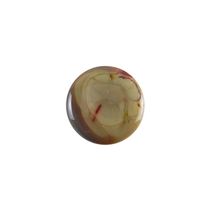 Royal Imperial Jasper Gemstone - Round Cabochon 25mm Pkg - 1