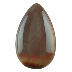 Royal Imperial Jasper Gemstone - Pear Cabochon 14mm x 23mm Pkg - 1