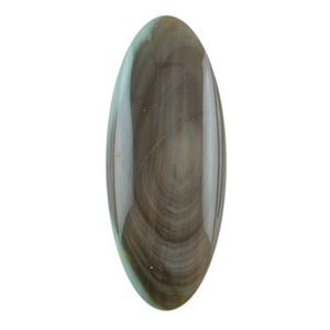 Royal Imperial Jasper Gemstone - Oval Cabochon 10mm x 25mm Pkg - 1