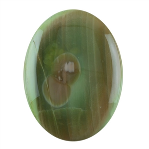 Royal Imperial Jasper Gemstone - Oval Cabochon 30mm x 40mm Pkg - 1