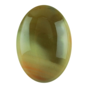 Royal Imperial Jasper Gemstone - Oval Cabochon 10mm x 14mm Pkg - 1
