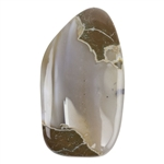 Natural Thunderegg Agate Gemstone - Cabochon Oval 25mm x 45mm Pkg - 1