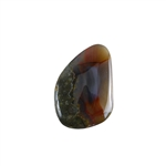 Thunderegg Agate Gemstone - Freeform Cabochon 21x31mm Pkg - 1