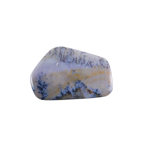 Amethyst Sage Dendritic Agate Gemstone - Freeform Cabochon 30x46mm - Pak of 1