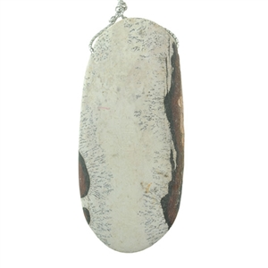 Sonora Dendritic Rhyolite Jasper Gemstone - Tapered Drop Cabochon 16x54mm - Pak of 1