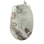 Wild Horse Magnesite Gemstone - Oval Pendant 38x55mm - Pak of 1
