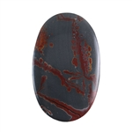 Sonora Dendritic Rhyolite Jasper Gemstone - Oval Cabochon 28mm x 45mm - Pak of 1