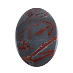 Sonora Dendritic Rhyolite Jasper Gemstone - Oval Cabochon 32mm x 44mm - Pak of 1