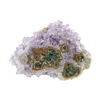 Amethyst Stalactite Gemstone - Round Freeform 40x54mm - Pak of 1