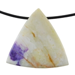 Mexican Purple Opal Gemstone - Pendant Trillion 37mm x 35mm Pkg - 1