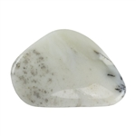 Natural Dendritic Opal Gemstone - Cabochon Freeform 23mm x 34mm Pkg - 1