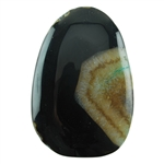 Dyed Agate Gemstone - Freeform Cabochon 37mm x 55mm Pkg - 1
