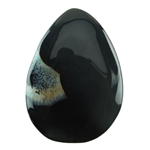 Dyed Agate Gemstone - Pear Cabochon 37mm x 54mm Pkg - 1