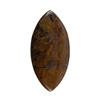 Natural Bronzite Gemstone - Cabochon Marquise 27x56mm - Pak of 1