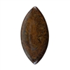Natural Bronzite Gemstone - Cabochon Marquise 33x67mm - Pak of 1