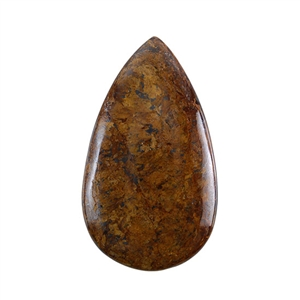 Natural Bronzite Gemstone - Cabochon Pear 33x56mm - Pak of 1