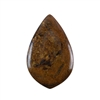 Natural Bronzite Gemstone - Cabochon Drop 38x59mm - Pak of 1