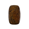 Natural Bronzite Gemstone - Cabochon Barrel 30x48mm - Pak of 1